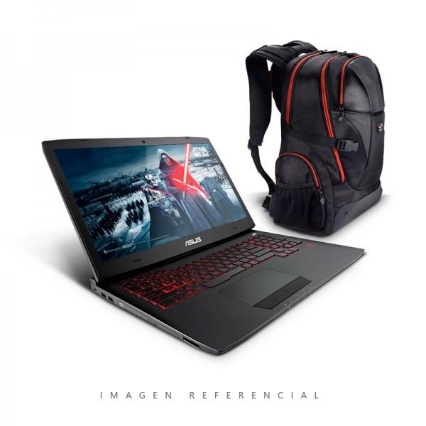 "Laptop Asus G751JT-T7084H-UP Intel Core i7 4710HQ 2.5GHz, RAM 32GB, HDD 1TB + SSD 480GB, NVidia GTX 970M 3GB , Bluray, LED 17.3"" Full HD, Windows 8.1"