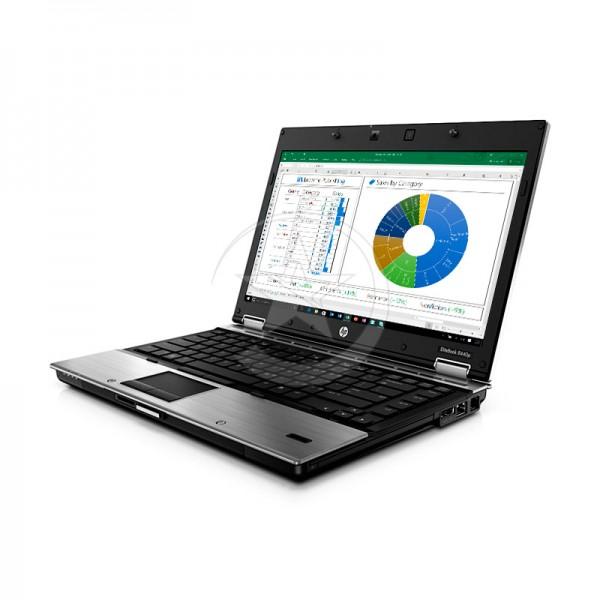 "Laptop HP EliteBook 8440p, Intel Core i5-520M 2.4GHz (vPro), RAM 4GB, SSD 256GB, DVD, LED 14"", Windows 7 Professional"