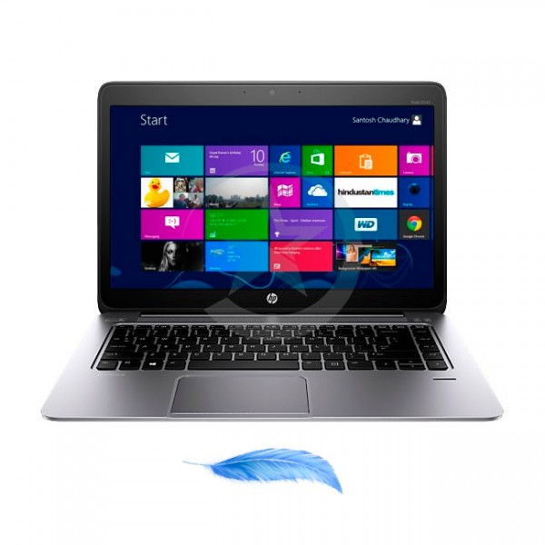 "Laptop HP EliteBook Folio 1040 G1, Intel Core i7-4600U 2.1GHz (vPro), RAM 4GB, SSD 256GB, LED 14"" HD, Win 8.1 Pro"