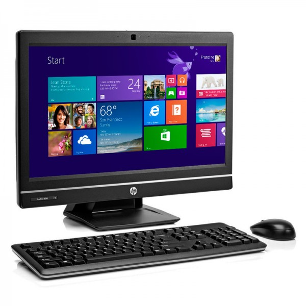 "PC Todo en Uno HP ProOne 600 G1, Intel Core i7-4790S 3.2 GHz, RAM 8GB, HDD 500GB, LED 21.5"" Full HD, Windows 8"