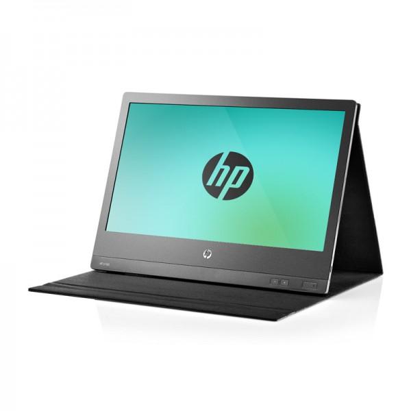 """Monitor LED HP U160 15.6"""" (1366x768), USB, Práctica funda de piel"""