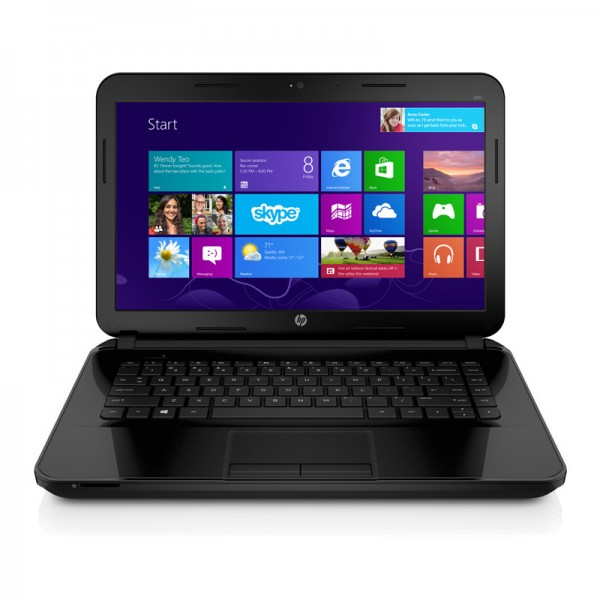 "Laptop HP 14-D028LA Intel Core i3-3110M 2.4GHz, RAM 4GB, HDD500GB,DVD, LED 14""HD, Windows 8.1"