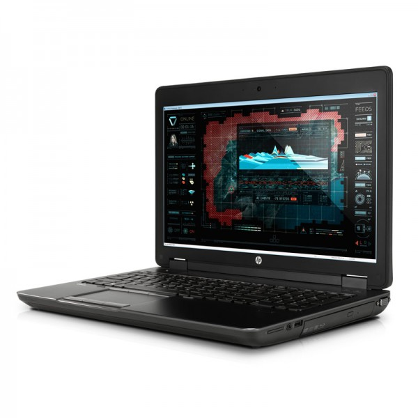 "Laptop HP ZBook 15 Workstation Intel Core i7 4800MQ 2.7GHz, RAM 16GB, SSD 256GB ó HDD 500GB, Video 2GB Quadro K1100, DVD,15.6"" Full HD, Win 7 P / Win 10 Pro"