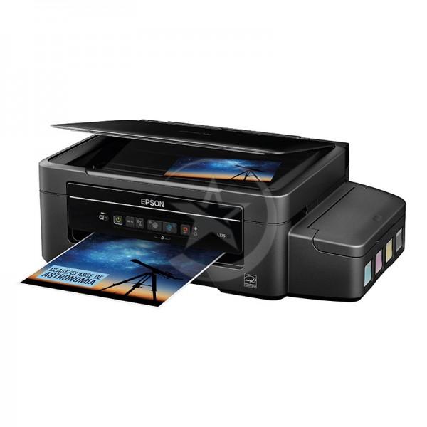 Impresora Multifuncional Epson Ecotank L375, USB, WiFi, alta productividad y rendimiento.