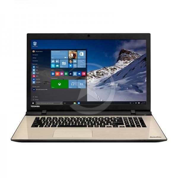 """Laptop Toshiba Satellite L70-C0390, Intel Core i5-5200U 2.20GHz, RAM 8GB , HDD 1TB, Video 2GB nVidia, DVD, LED 17.3"""" HD, Win 10 Pro"""