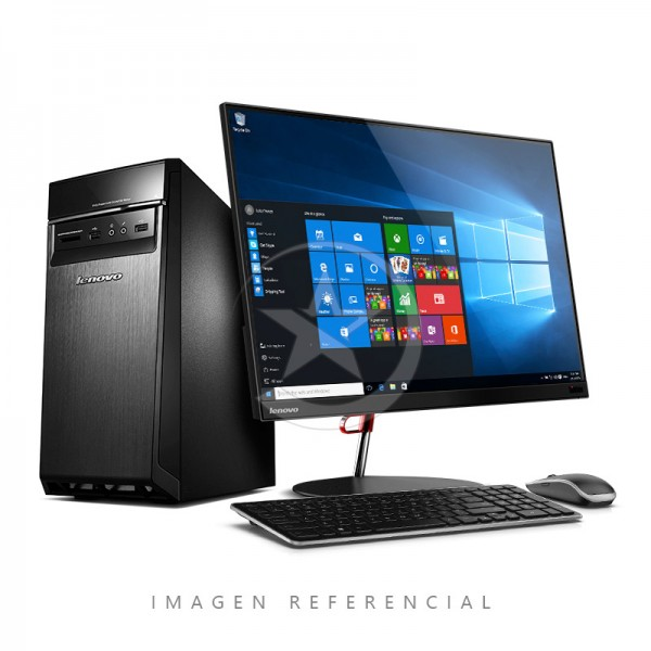 PC Lenovo H50-50, Intel Core i5-4460 3.2GHz, RAM 8GB, HDD 1TB, DVD, Windows 10 Pro + Monitor Lenovo ThinkVision X24 - 24 Pulg.