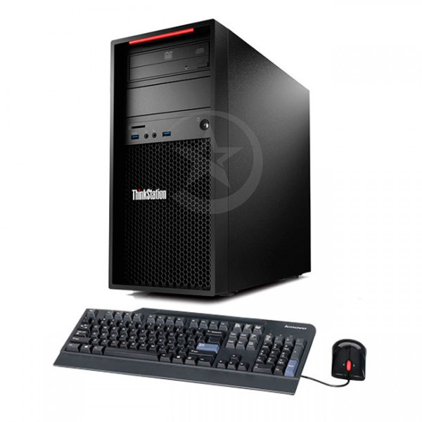 PC WorkStation Lenovo ThinkStation P300 Xeon® E3 -1241 v3 3.3GHz, RAM 16GB , HDD 1TB, Video 2GB Quadro K620 2GB, DVD, Windows 8.1 Pro
