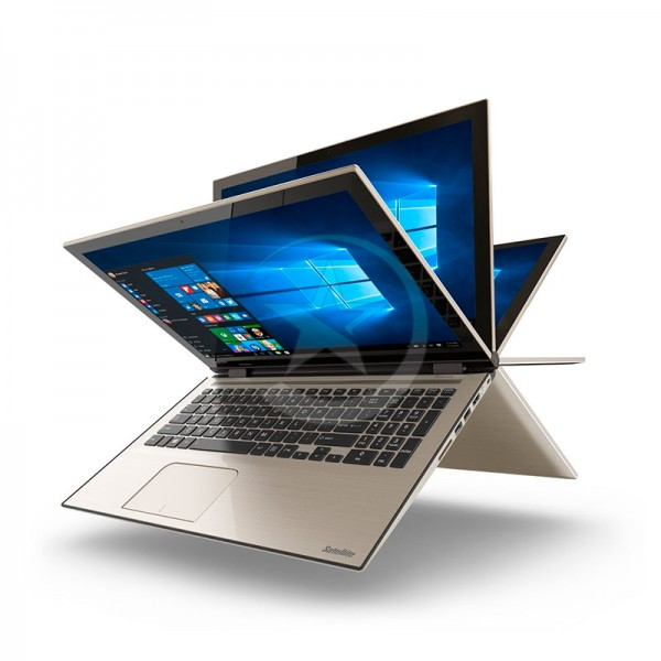 "Convertible Toshiba Satellite Fusion L55W-C5358, Intel Core i7-5500U 2.4GHz, RAM 8GB, HDD 1TB, LED 15.6""  HD Touch, Windows 10"