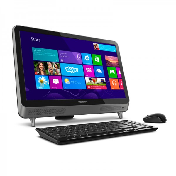 "PC Todo en Uno Toshiba Touch LX830-01Q16 Core i5-3230M 2.6GHz, RAM 16GB, HDD 1TB, DVD, LED 23"" Touch Full HD, Windows 8"