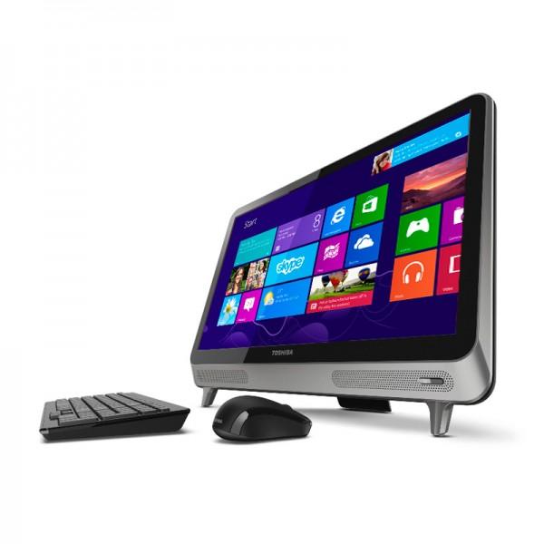 "PC Todo en Uno Toshiba LX830-010 Core i3-3110M 2.4GHz, RAM 4GB, HDD 750GB, DVD, LED 23"" Full HD, Windows 8"