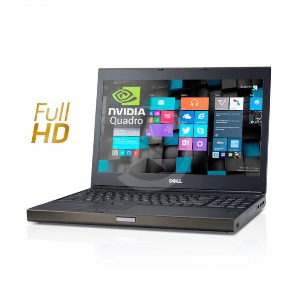 "Laptop Dell WorkStation Precision M6800 Intel Core i7 4710MQ 2.5GHz, RAM 16GB, HDD 1TB, NVidia Quadro K2200M 2GB, DVD, 17.3"" Full HD, Windows 8.1 Pro"