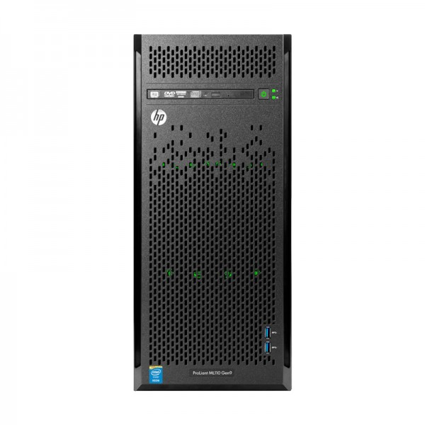 Servidor HP ProLiant ML110 G10 4U Torre  Intel Xeon Bronze 3104, RAM 32GB DDR4, 2 x HDD 4TB SATA, DVD