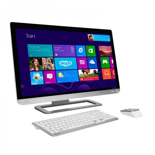 "PC Todo en Uno Toshiba PX30T-00V ""Luxury"" Core i7-4700MQ 2.4GHz, RAM 16GB, HDD 1TB, Video 2GB, Bluray, LED 23"" Touch Full HD, Windows 8"