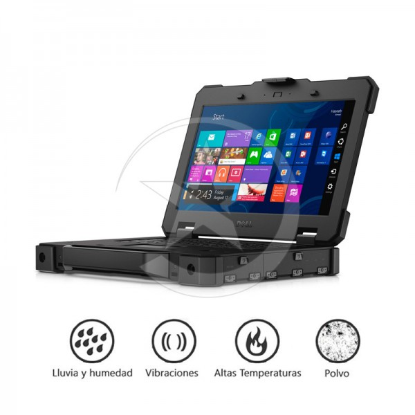 """Laptop Dell Latitude 14 RUGGED EXTREME """"Limited Edition""""  Intel Core i7-4650U 1.7GHz vPro, RAM 8GB, SSD 128GB, DVD, 14"""" HD Touch, Win 8.1 Pro"""