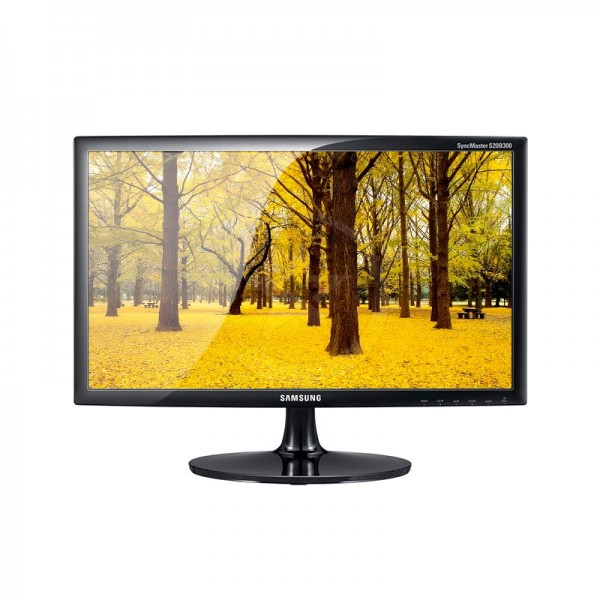 "Monitor Samsung LS20D300NH, LED 20"" HD (1366x768), contraste 600:1, VGA"