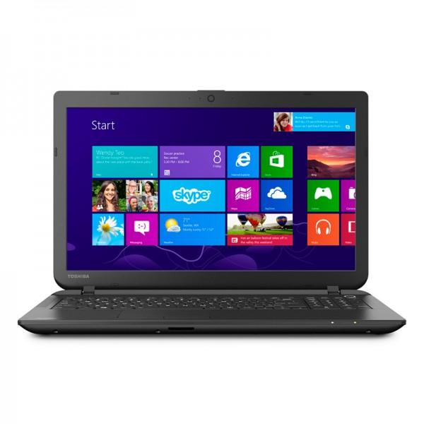 "Laptop Toshiba Satellite C55-B5300 Intel Dual Core N2840 2.16GHz, RAM 4GB, HDD 500GB, DVD, 15.6""HD, Win 8.1"