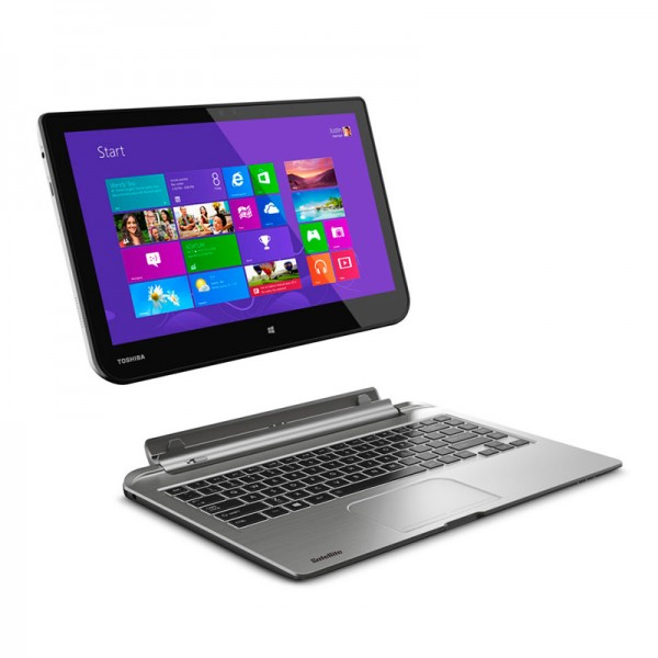 """Convertible Toshiba Satellite  W35DT-A3300, AMD Dual Core A4-1200 1.0GHz, RAM 4GB, HDD 500GB, Pantalla 13.3""""HD desmontable, Win 8"""