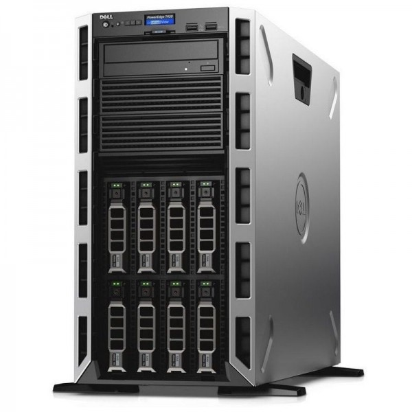 Servidor DELL PowerEdge T430 Torre , Intel Octa-core Xeon E5-2609 v4 1.70GHz, RAM 8GB ECC, HDD 2TB 7.2K - Hot-Plug HD/PERC H330/iDRAC8 Basic