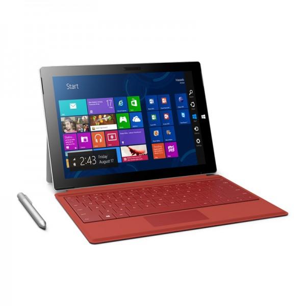 "Surface Pro 3, Procesador Intel Core i7, RAM 8GB, almacenamiento 256GB, Pantalla Touch 12.0"" Full HD Plus, Windows 8.1 Pro."