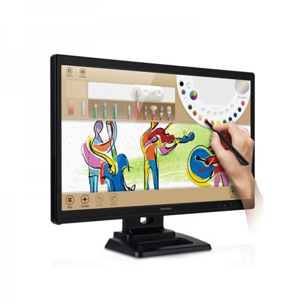 """Monitor Viewsonic TD2420 LED 24"""" Full HD , HDMI/DVI/VGA , Parlantes"""