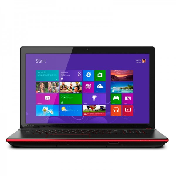 "Laptop Toshiba Qosmio X75-A7195-R ""Special Edition"" Intel Core i7 4700MQ 2.4GHz, RAM 32GB, HDD 1.5TB+256GB SSD, Video 3GB GTX, DVD, 17.3""Full HD, Win 8"