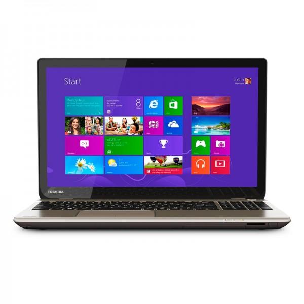 """Laptop Toshiba Satellite P55T-B5262D Intel Core i7 4710HQ 2.5GHz, RAM 12GB, HDD 1TB, Video 2GB , Blu ray,15.6"""" Touch Ultra HD-4K, Win 8.1"""