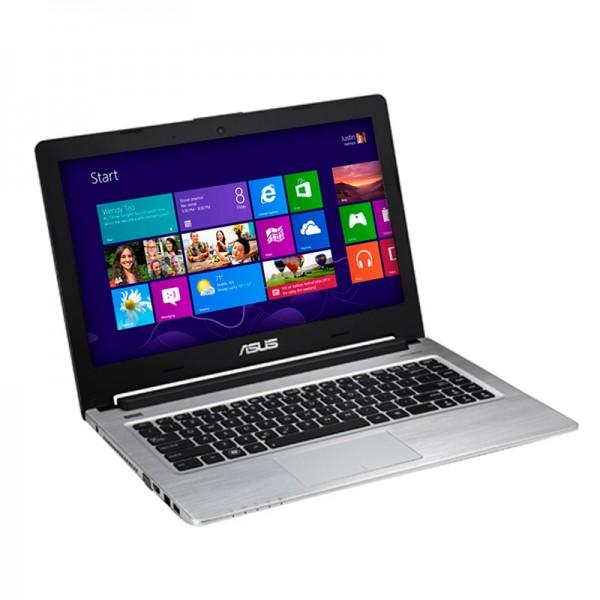 """Laptop Asus S46CB  Intel Core i7-3537U 2.0 GHz, RAM 8GB, HDD 1TB+SSD 24GB, Video 2GB, DVD, 14""""HD, Win 8"""