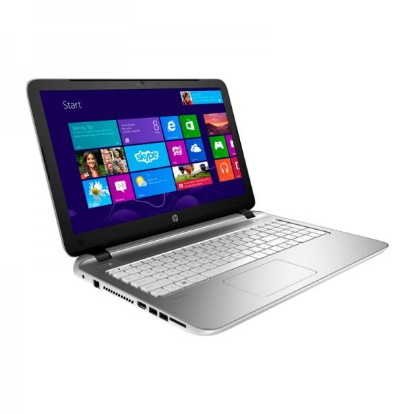 "Laptop Pavilion 14-v006la, AMD A8-6410 2.4GHz, RAM 4GB, HDD 500GB, DVD±RW, LED 14"" HD, Win 8.1 White"