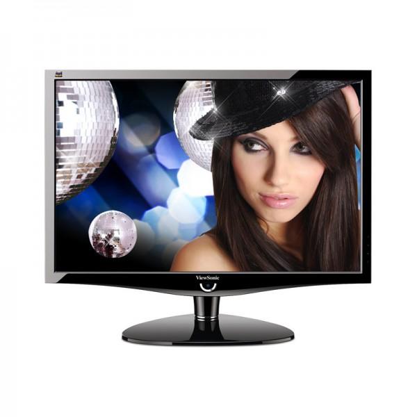 "Monitor LCD ViewSonic VX2439WM 24"" Full HD 1080p, DVI-D, HDMI, VGA, Altavoces"