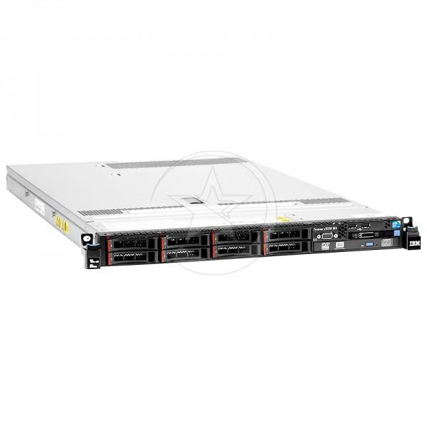 Servidor Lenovo System x3550 M4 7914 Doble Procesador Intel Xeon 8 Núcleos E5-2640v2 2.0GHz, RAM ECC 16GB, HDD 2TB- SAS ,  550W p/s, Rack