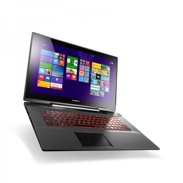 "Laptop Gamming Lenovo Y70-70 TOUCH Intel Core i7 4702HQ  2.2GHz, RAM 16GB, HDD 1TB+ 8GB SSD, Video 4GB GTX, Bluray, 17.3"" Full HD Touch, Win 8.1 SP"