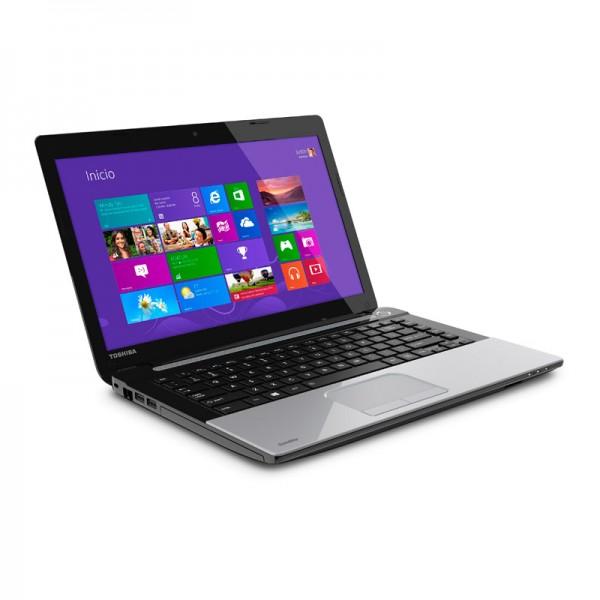 "Laptop Toshiba Satellite C45-ASP4307FL Intel Dual Core 1037U 1.8 GHz, RAM 4GB, HDD 500GB , DVD, LED DE 14"" HD, Windows 10 SP"
