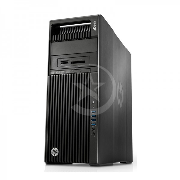 PC WorkStation HP Z640 Doble procesador Intel Xeon TEN-Core E5-2650 v.3 2.3GHz, RAM 128GB DDR4 ECC, HDD 4TB + 960GB SSD, NVIDIA Quadro K6000 12GB ddr5, DVD, Win 8.1 Pro