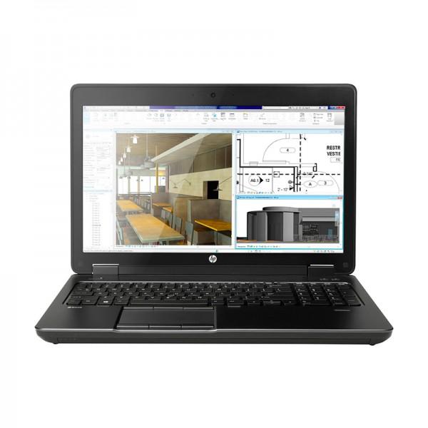 """Laptop HP ZBook 15 G2 Workstation Intel Core i7 4810MQ 2.8GHz, RAM 16GB, SSD 512GB, Video 2GB Quadro K2100, DVD,15.6"""" Full HD, Win 7 / Win 10 Pro"""