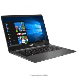 "Laptop Asus Zenbook UX430UN-GV165T, Intel Core i7-8550U 1.80GHz, RAM 8GB, Sólido SSD 512GB, Video 2GB Nvidia MX150, LED 14."" Full HD, Windows 10 SP, Peso 1.25 Kg"