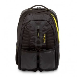 Mochila Targus Wok+Play Rackets BP BackPack Black/Yellow 15.6""