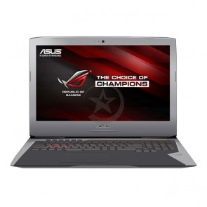 "Laptop Asus ROG G752VY-Q72SW ""Special Edition"" Intel Core i7 6700HQ  2.6GHz, RAM 64GB, HDD 1TB+SSD 256GB, Video 8 GB GTX 980M, Blu-Ray(BD-Re), LED 17.3"" Full HD, Win 10"