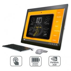 "PC Todo en Uno Lenovo Yoga Home 900- 27 Portable, Intel Core i5-5200U 2.2GHz, RAM 8GB, SSD 256GB, Video 2GB Nvidia, LED 27"" Full-HD Touch, Win 10"