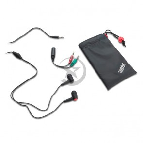 Auriculares Lenovo ThinkPad in-ear headphones