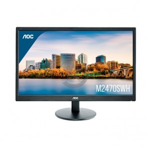 "Monitor AOC M2470SWH, 24"" Led, 1920x1080, HDMI / VGA."