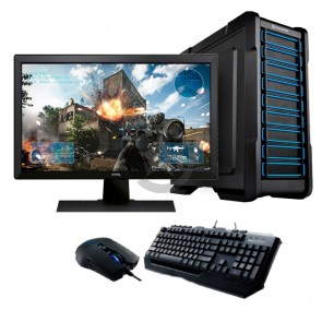 "PC GAMER PRO Intel Core i7-7700 3.6GHz, RAM 32GB, HDD 1TB + SSD 256GB, T. Video 8GB Nvidia GTX 1070, Blu-ray, LED 24"" FULLHD"