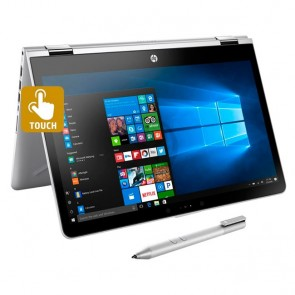 "Convertible 2 en 1 HP Pavilion X360 14-BA001LA Intel Core i3-7100U 2.1GHz, RAM 4GB, HDD 500GB, WLED 14"" HD Táctil , Windows 10 Home"