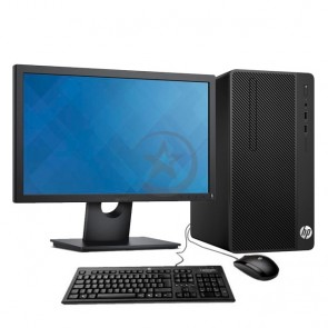 "PC HP 280 G3 Desktop, Intel Celeron G3900 2.8GHz, RAM 4GB, HDD 1 TB, DVD + Monitor de 18.5"" HD"