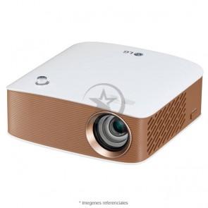 Mini proyector portatil LG PH150B, LED, HD Ready (1280x720), Bluetooth, Miracast , HDMI, USB, batería incorporada