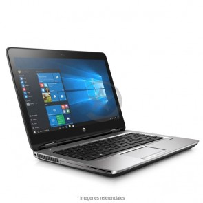 "Laptop HP ProBook 645 G3, AMD PRO A6-8530B 2.3GHz, RAM 8GB, HDD 500, DVD, LED 14"" HD, Windows 10 Pro"