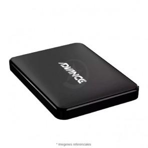 "Disco duro externo ADVANCE 500GB, USB 2.0, Negro 2.5"""