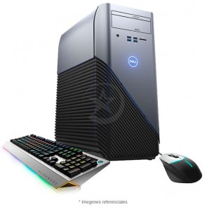 PC Dell Inspiron 5675 Gaming Alienware Edition, AMD Ryzen 7-1700X 3.8GHz, RAM 12GB, HDD 1TB + SSD 128GB, Video 4GB AMD RX570, Wi-FI, DVD, Windows 10+Teclado y Mouse Alienware gaming