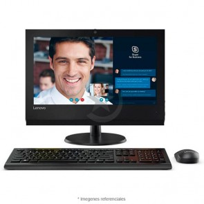 "PC Todo en Uno Lenovo V310z, Intel Core i7-7700U 3.6GHz, RAM 8GB, HDD 1TB + Sólido SSD 128GB, Wi-FI, DVD-RW, LED 19.5"" Full HD, Windows 10 Pro SP"