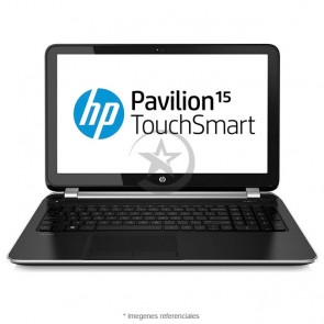 "Laptop HP Pavilion TouchSmart 15-N241CA AMD Quad-Core A4-5000 1.5GHz, RAM 6GB, HDD 500GB, DVD, Touch 15.6"" HD, Win 8.1 / Win 10"