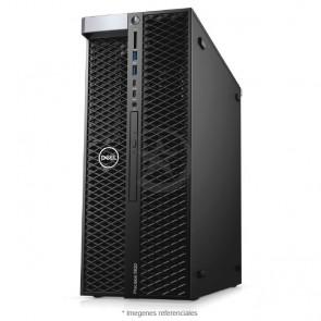 PC Dell WorkStation Precision T5820 Intel® Xeon® W-2175 2.7GHz (14 núcleos), RAM 128GB ECC, Sólido SSD 1TB + HDD 4TB, Video 24GB Nvidia Quadro P6000, DVD, Windows 10 Pro